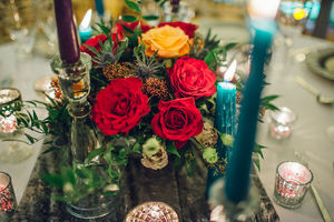 colourful centrepiece