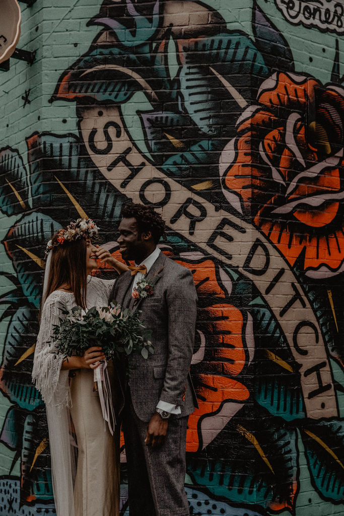 london styled shoot
