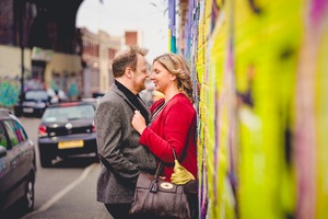 urban engagement shoot